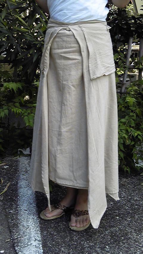 巻き巻きスカート