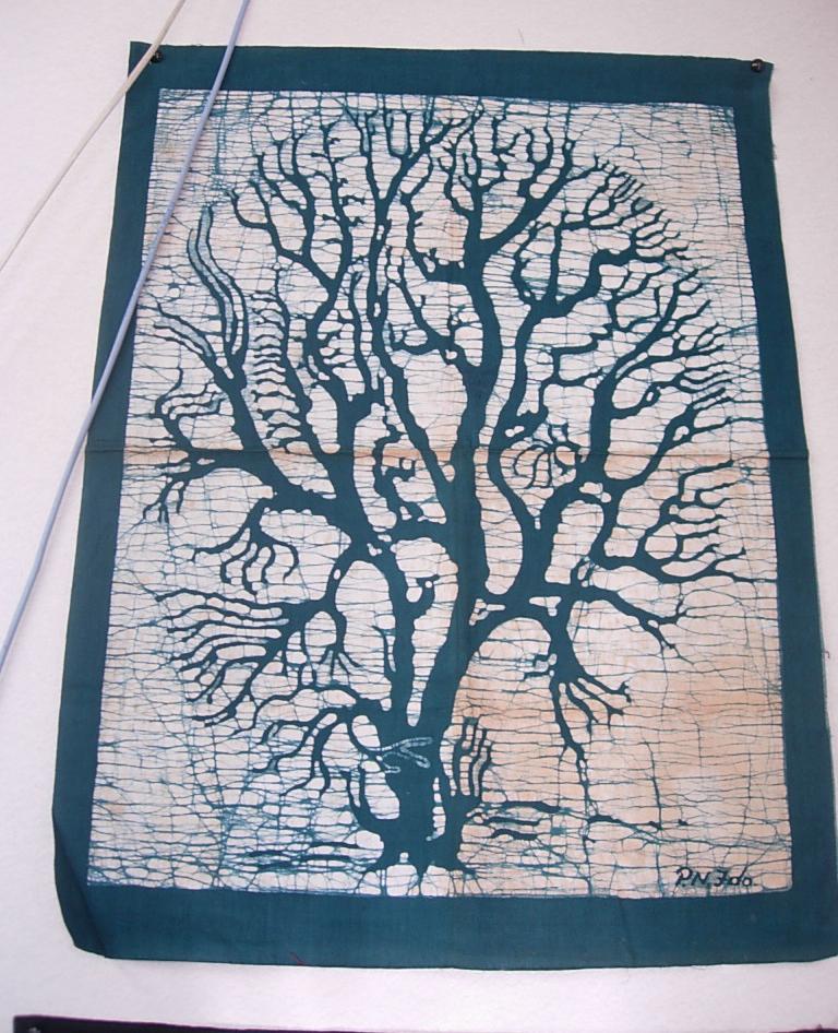 バティック・生命の木